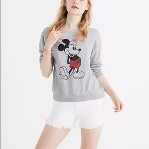 Madewell Mickey Mouse Sweater